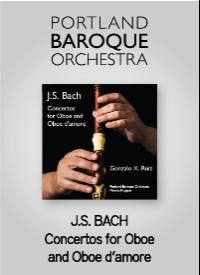 CD: J.S. Bach Concertos for Oboe and Oboe d'amore