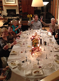 DINNER WITH FRIENDS: SINGING FOR YOUR SUPPER