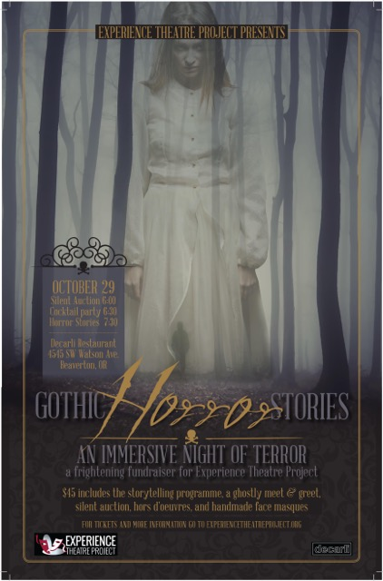 Gothic Horror Stories: an immersive night of terror