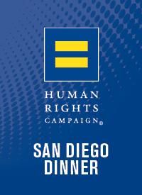 HRC San Diego Gala Dinner 2017