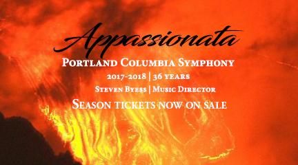 Portland Columbia Symphony's 2017-2018 Season, Appassionata