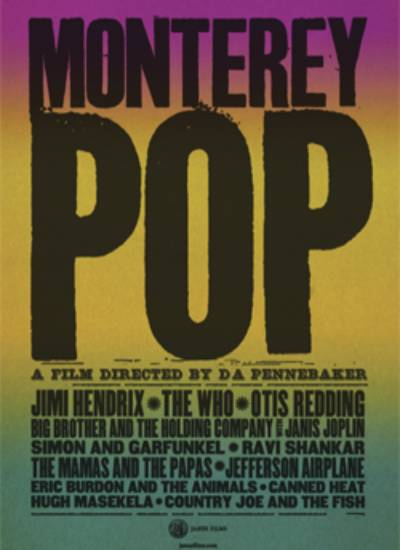 MONTEREY POP (Majestic Auditorium)