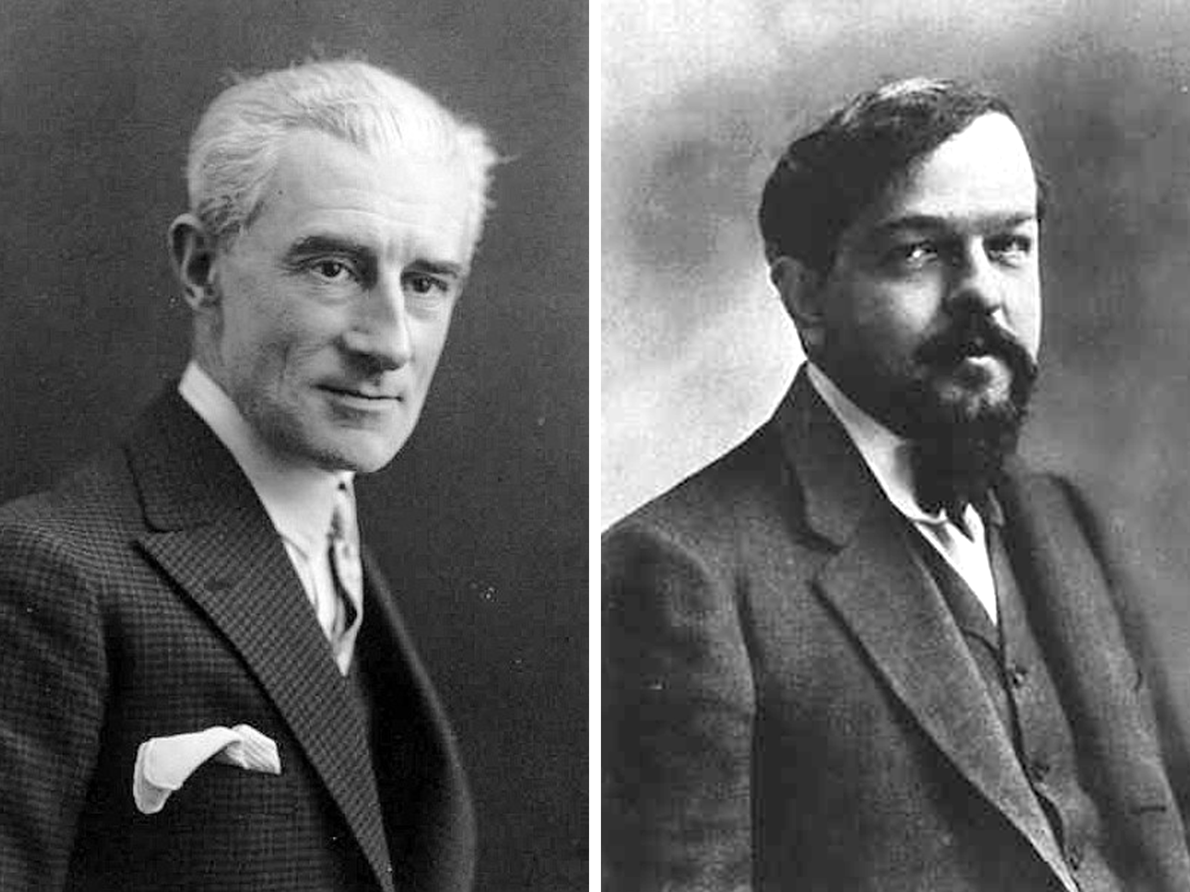 Music in Beautiful Spaces: Ravel and Debussy