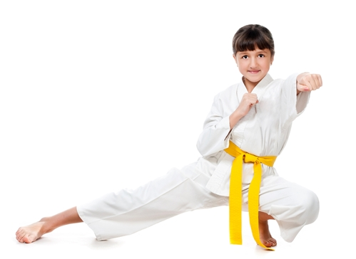 Children learn how to be leader when they participate in martial arts.