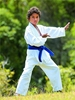 Martial arts students can use visualization strategies to improve their performance.
