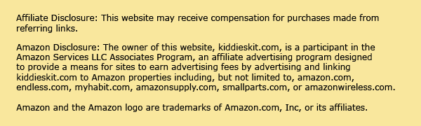 Amazon and Affiliate Disclosure