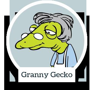 Granny Gecko