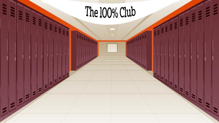 The 100% Club