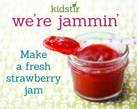 Make Fresh Strawberry Jam - we're jammin