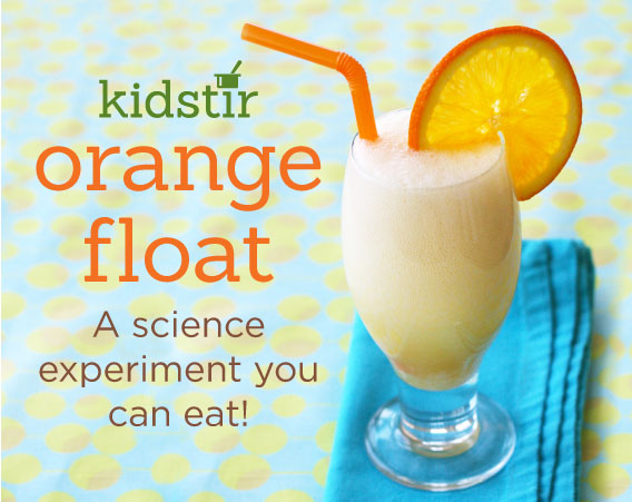 Orange Float Science Experiment