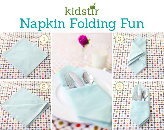 Napkin Folding Fun