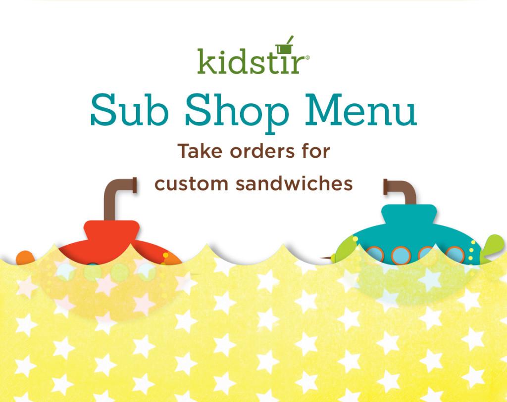 Sub Shop Menu