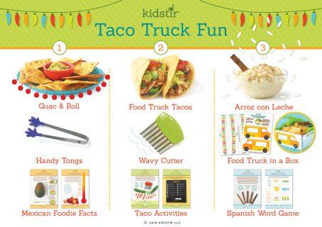 Taco Truck Fun Kit Contents