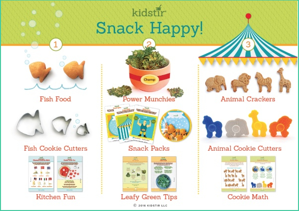 Snack Happy Recipe Kit