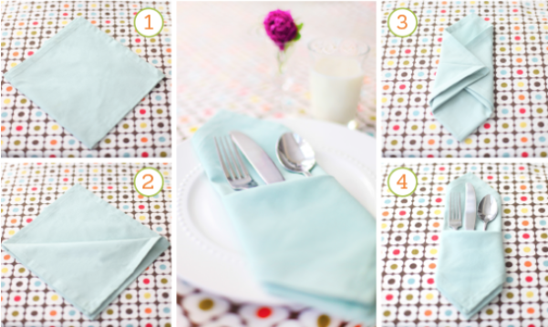 Napkin Folding Magic Kids