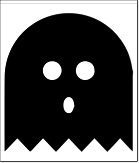halloween pumpkin carving pattern ghost