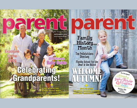 Flagle & Volusia Parent magazines