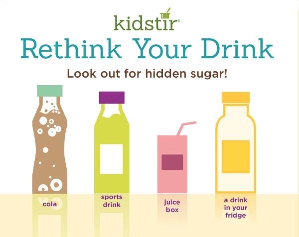 rethink drink hidden sugar chart