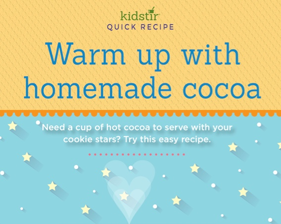 Cocoa Recipe Infographic