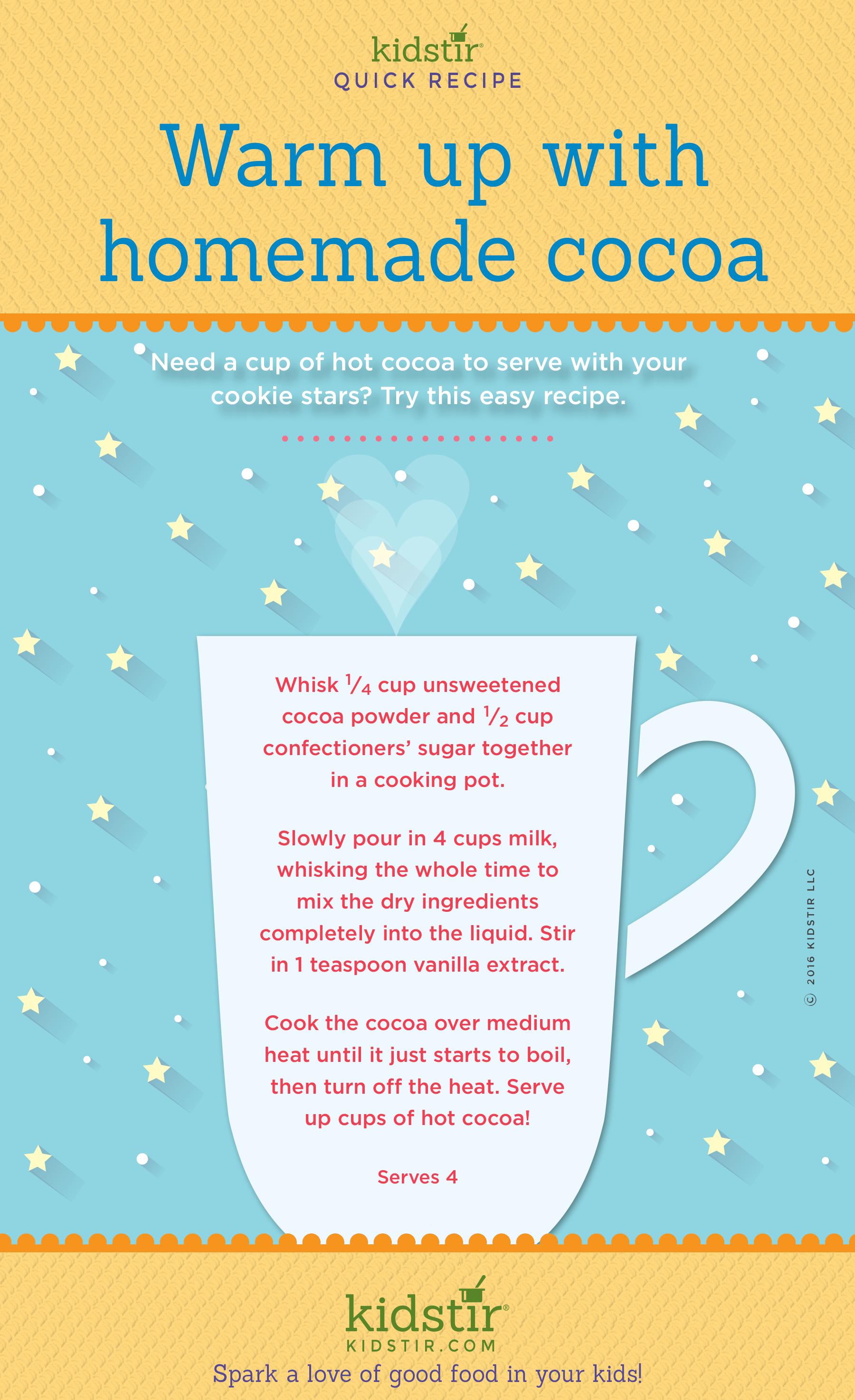 Kids Simple Hot Cocoa Recipe