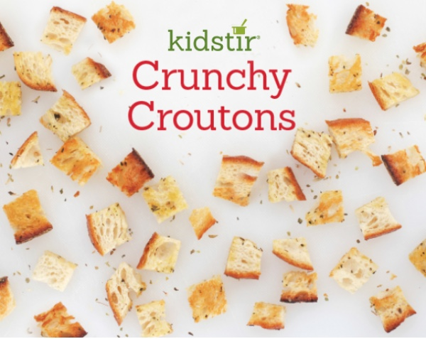 Crunchy Croutons for Kids