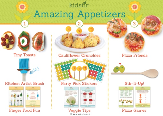 April Appetizers Kids Featured