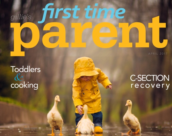 First Time Parent Magazine April