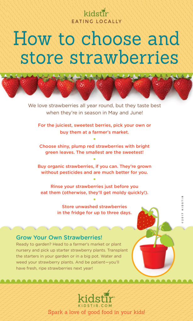 How to Choose Strawberries Infographic