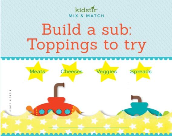 Submarine Sandwich Menu Feature