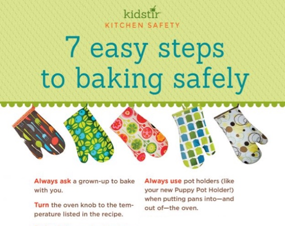 Kids Bake Safely