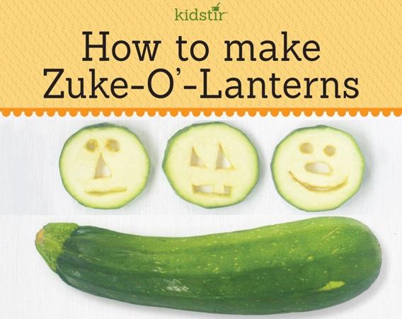 Zuke-o-Lanterns Zucchini Kids