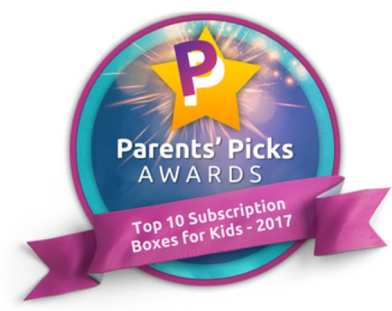 Top 10 Subscription Boxes for Kids Award