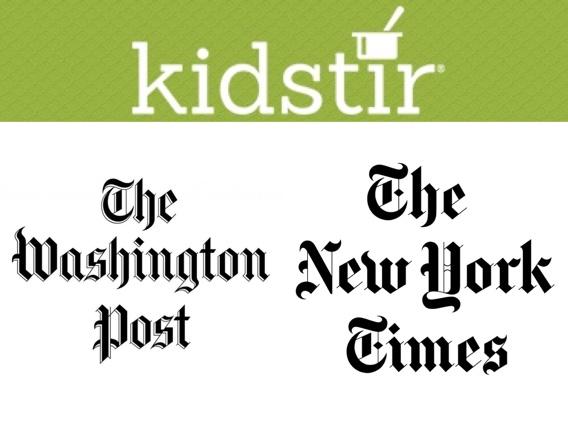 Washington Post & New York Times articles - Kidstir