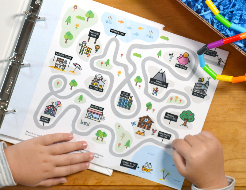 Growing Up Guides Map