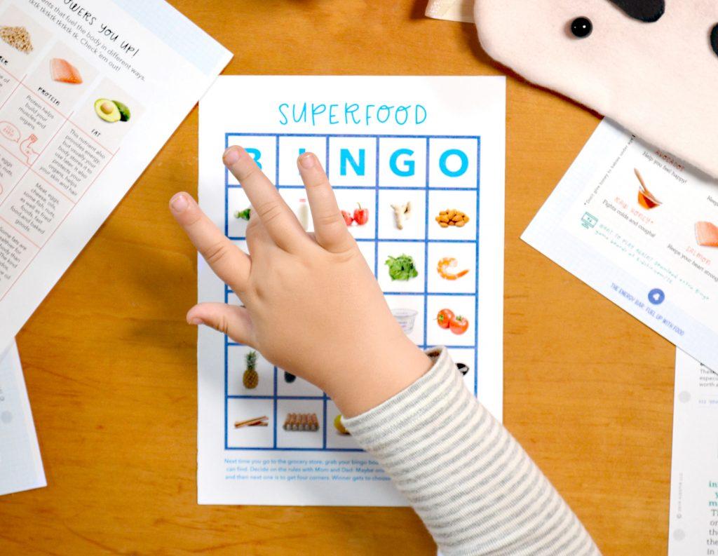 Let's Play Superfood Bingo!
