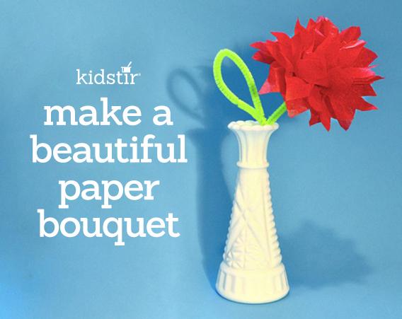 Easy Tissue-Paper Flower Craft