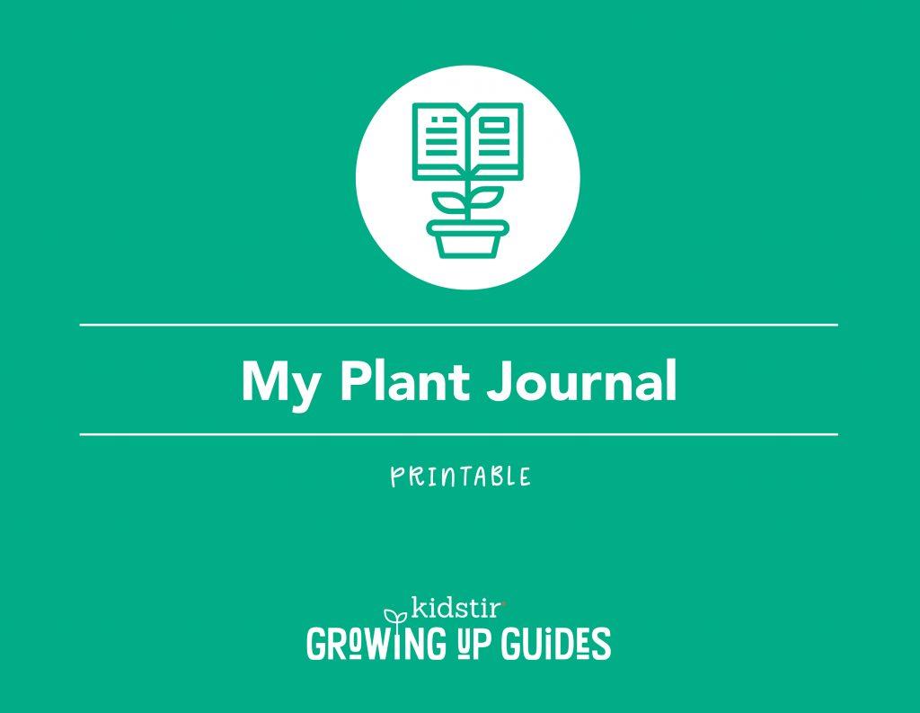 Printable Plant Journal Page