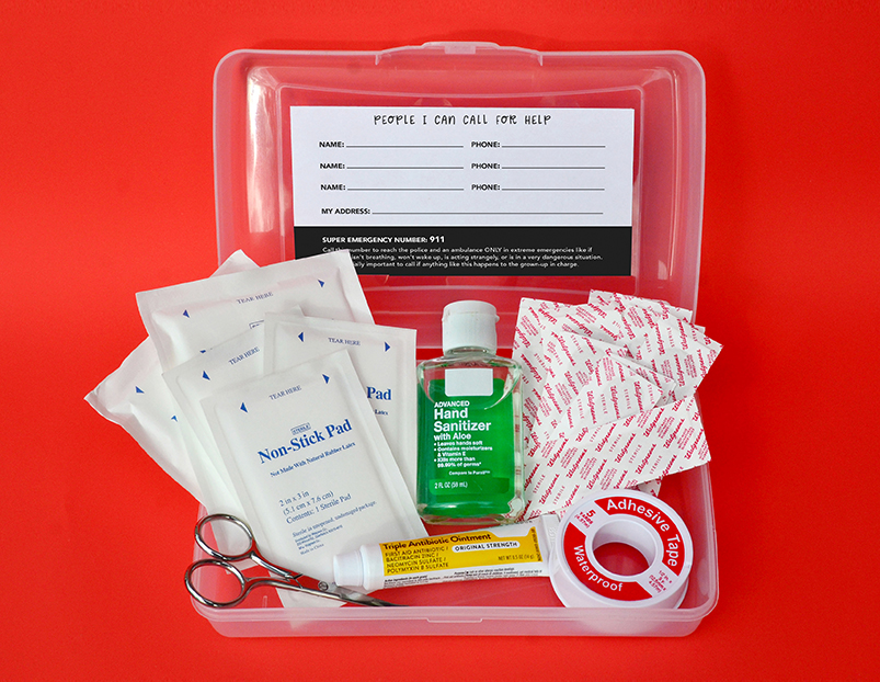 First-Aid Basics for Kids
