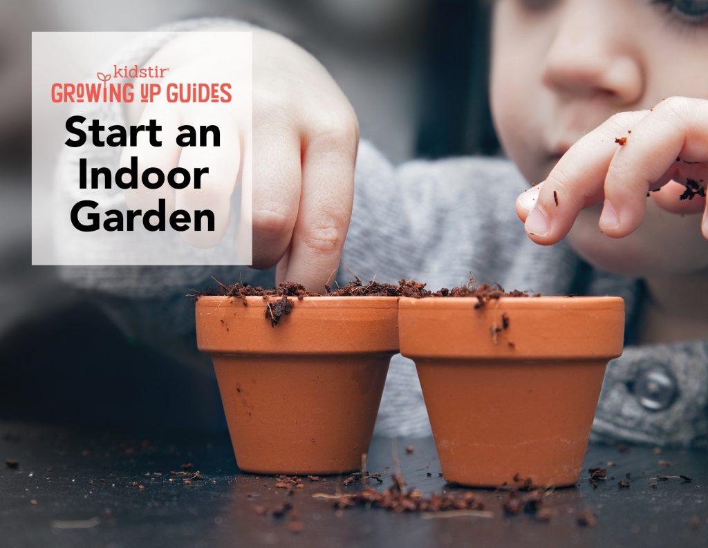 Teach Kids How to Plant Seeds