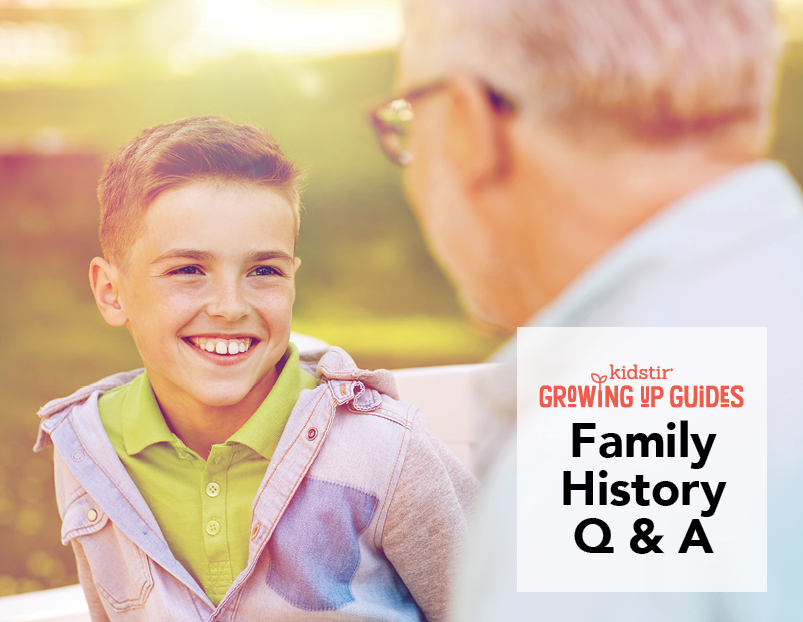 Family History Interview for Kids