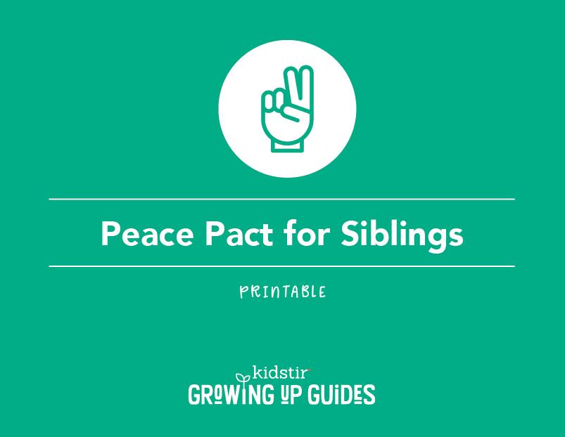 Helping Siblings Get Along