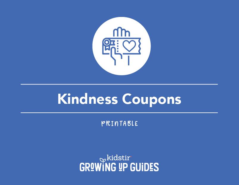 Printable Kindness Coupons