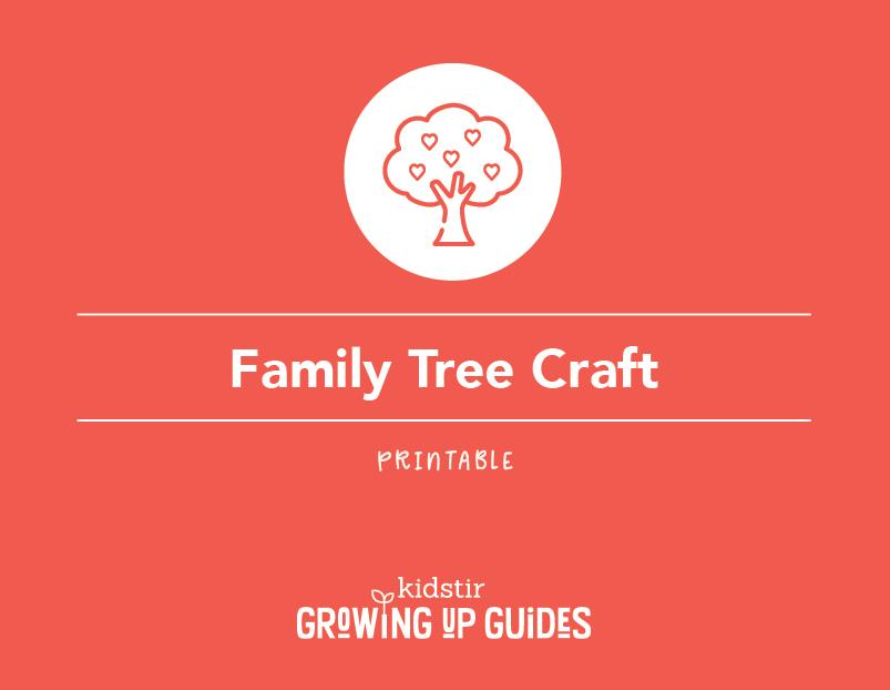 Printable Family Tree Craft