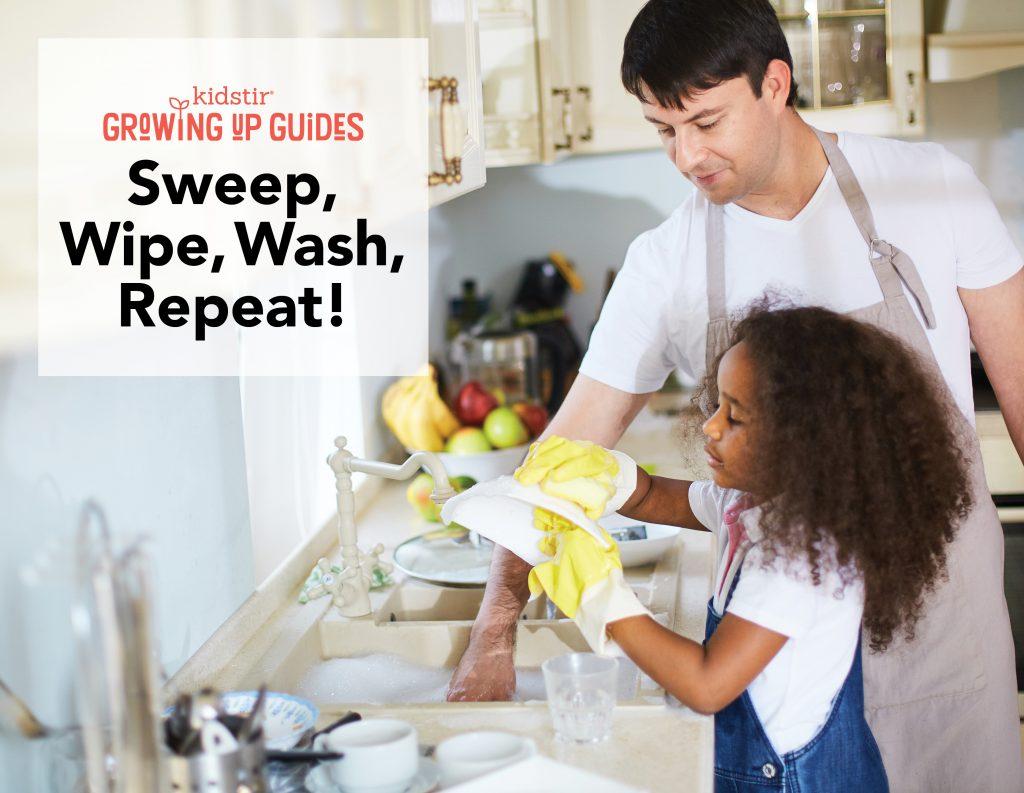 6 Things Housework Teaches Kids