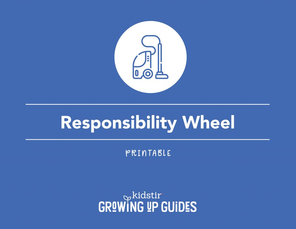 Printable Responsibility Wheel