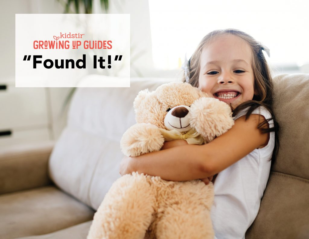 Teaching Kids How to Find Lost Things