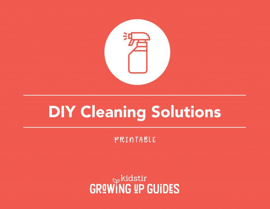Kid-safe Cleaning Solutions You Can Make