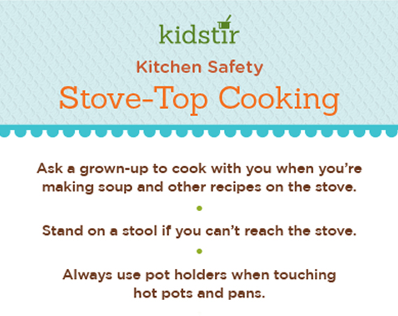 Stove Safety For Kids