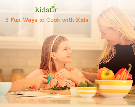 5 Fun Ways To Cook With Kids