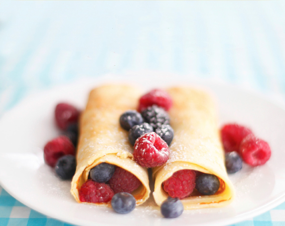 Classic Berry Crepes Recipe